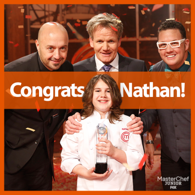 Nathan Odom 12 Year Old Master Chef Junior S3